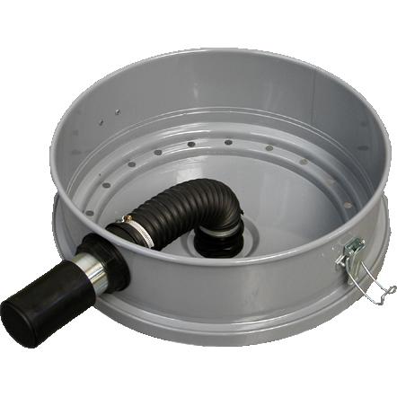 Крышка бака для мусора 100 л для пылеводососа, Lavor