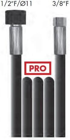 """Шланг высокого давления 10м, 3/8""""F-1/2""""F, Pro"""