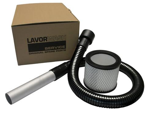 Комплект для пылесоса (фильтр+шланг) для чистки камина, Lavor