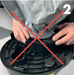 Тканевые мешки для пылесоса Lavor, 3 шт
