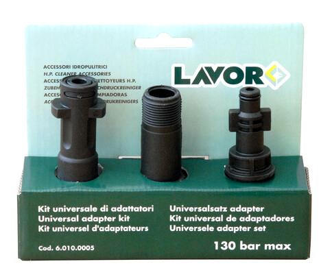 Комплект переходников для мойки высокого давления, 3 шт, Lavor