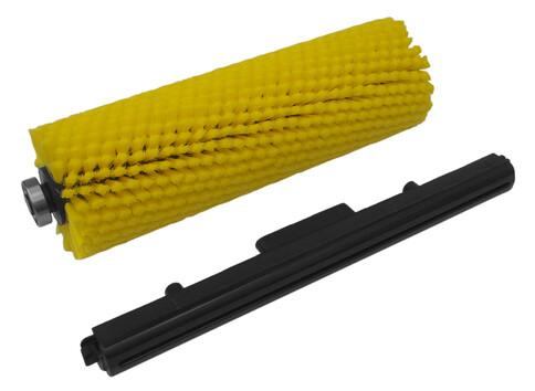 Комплект: щетка + скребок для поломоечной машины Lavor